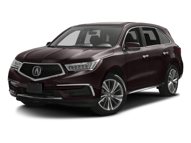 Black Copper Pearl 2017 Acura MDX Pictures MDX FWD w/Technology Pkg photos front view