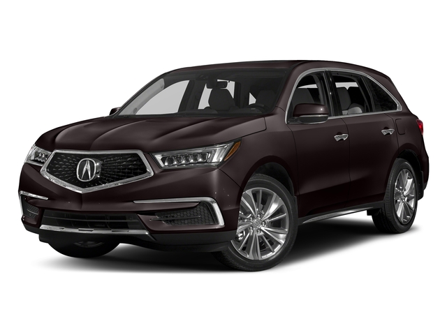 Black Copper Pearl 2017 Acura MDX Pictures MDX Utility 4D Technology DVD 2WD V6 photos front view
