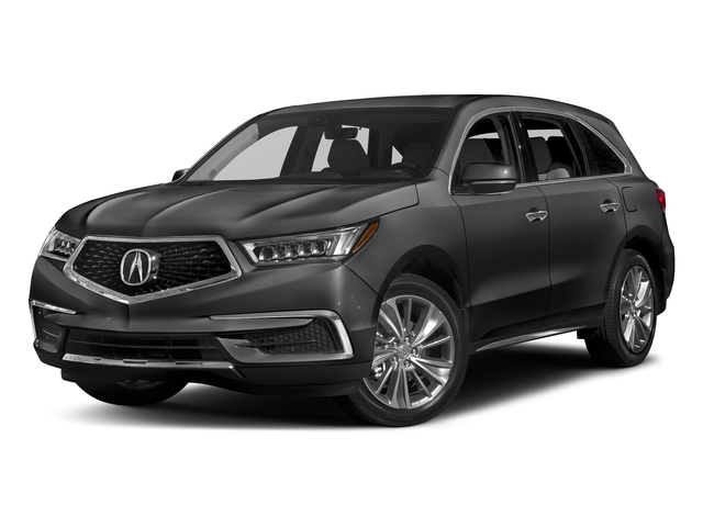 Modern Steel Metallic 2017 Acura MDX Pictures MDX Utility 4D Technology DVD 2WD V6 photos front view