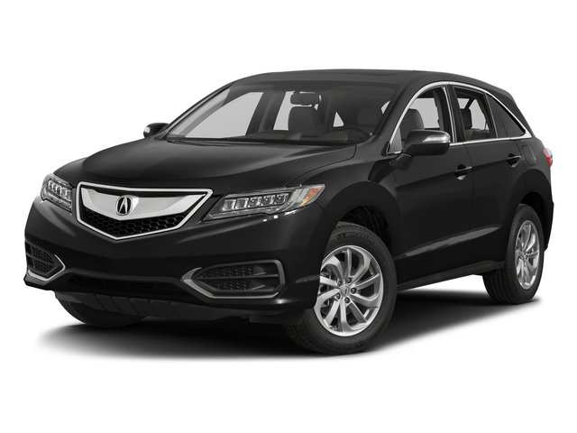 Crystal Black Pearl 2017 Acura RDX Pictures RDX Utility 4D Technology AWD V6 photos front view