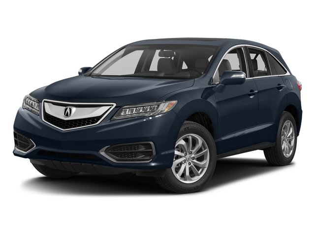 Fathom Blue Pearl 2017 Acura RDX Pictures RDX Utility 4D Technology AWD V6 photos front view