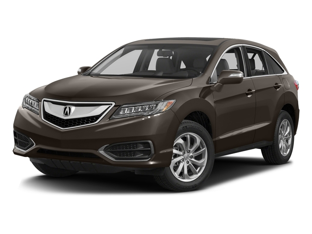 Kona Coffee Metallic 2017 Acura RDX Pictures RDX Utility 4D Technology AWD V6 photos front view
