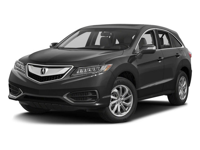 Modern Steel Metallic 2017 Acura RDX Pictures RDX Utility 4D Technology AWD V6 photos front view