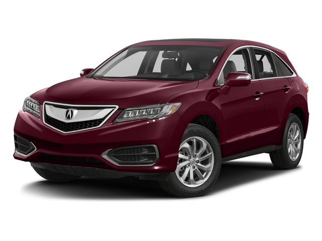 Basque Red Pearl II 2017 Acura RDX Pictures RDX Utility 4D Technology AWD V6 photos front view
