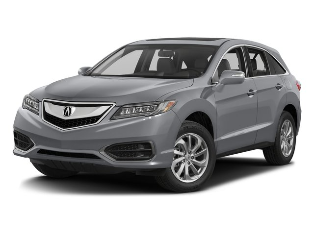 Lunar Silver Metallic 2017 Acura RDX Pictures RDX Utility 4D Technology AWD V6 photos front view