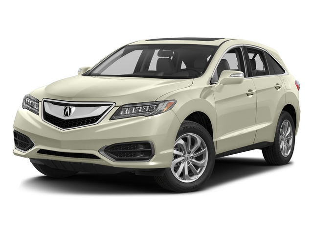 White Diamond Pearl 2017 Acura RDX Pictures RDX Utility 4D Technology AWD V6 photos front view
