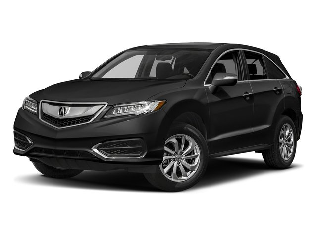 Crystal Black Pearl 2017 Acura RDX Pictures RDX Utility 4D AWD V6 photos front view