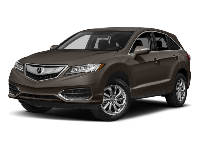 Kona Coffee Metallic 2017 Acura RDX Pictures RDX Utility 4D AWD V6 photos front view
