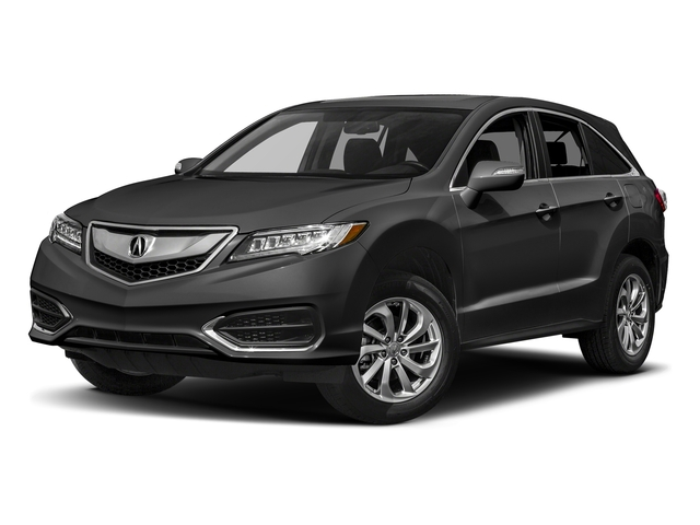 Modern Steel Metallic 2017 Acura RDX Pictures RDX AWD photos front view