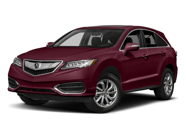 Basque Red Pearl II 2017 Acura RDX Pictures RDX AWD photos front view