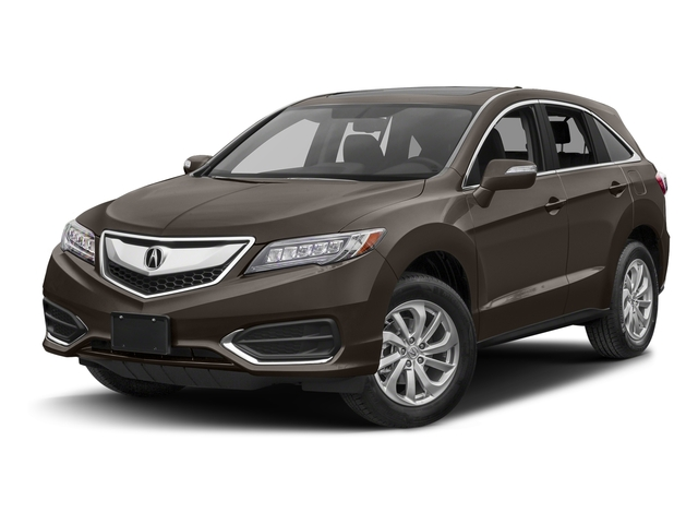 Kona Coffee Metallic 2017 Acura RDX Pictures RDX Utility 4D Technology 2WD V6 photos front view