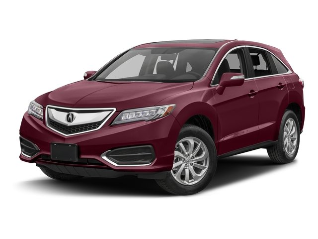 Basque Red Pearl II 2017 Acura RDX Pictures RDX Utility 4D Technology 2WD V6 photos front view