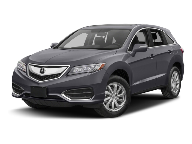 Lunar Silver Metallic 2017 Acura RDX Pictures RDX Utility 4D Technology 2WD V6 photos front view