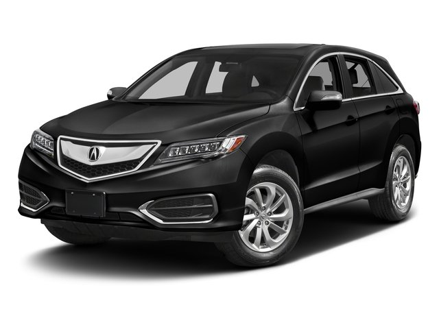 Crystal Black Pearl 2017 Acura RDX Pictures RDX Utility 4D 2WD V6 photos front view
