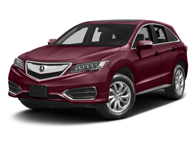Basque Red Pearl II 2017 Acura RDX Pictures RDX FWD photos front view