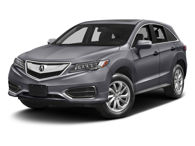 Lunar Silver Metallic 2017 Acura RDX Pictures RDX Utility 4D 2WD V6 photos front view
