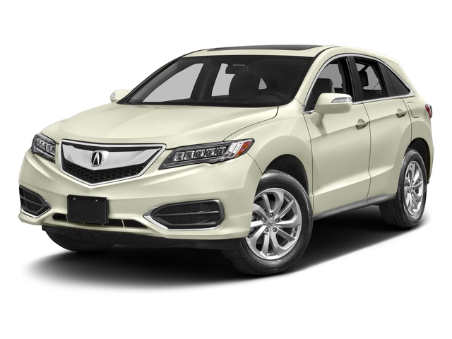 White Diamond Pearl 2017 Acura RDX Pictures RDX Utility 4D 2WD V6 photos front view