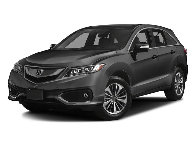 Modern Steel Metallic 2017 Acura RDX Pictures RDX Utility 4D Advance AWD V6 photos front view