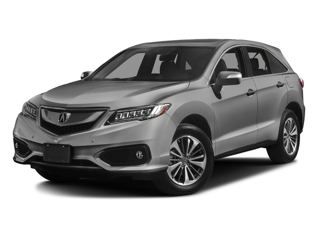 Lunar Silver Metallic 2017 Acura RDX Pictures RDX Utility 4D Advance AWD V6 photos front view