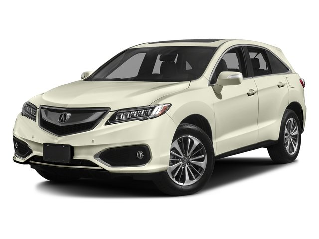 White Diamond Pearl 2017 Acura RDX Pictures RDX Utility 4D Advance AWD V6 photos front view
