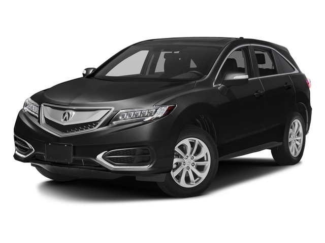 Crystal Black Pearl 2017 Acura RDX Pictures RDX AWD w/AcuraWatch Plus photos front view