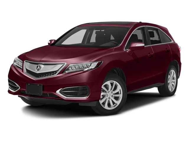 Basque Red Pearl II 2017 Acura RDX Pictures RDX AWD w/AcuraWatch Plus photos front view