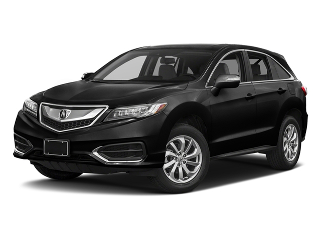 Crystal Black Pearl 2017 Acura RDX Pictures RDX FWD w/Technology/AcuraWatch Plus Pkg photos front view