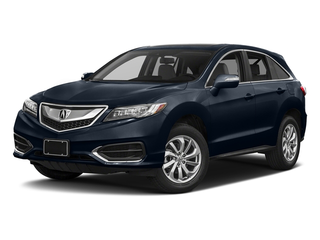 Fathom Blue Pearl 2017 Acura RDX Pictures RDX FWD w/Technology/AcuraWatch Plus Pkg photos front view