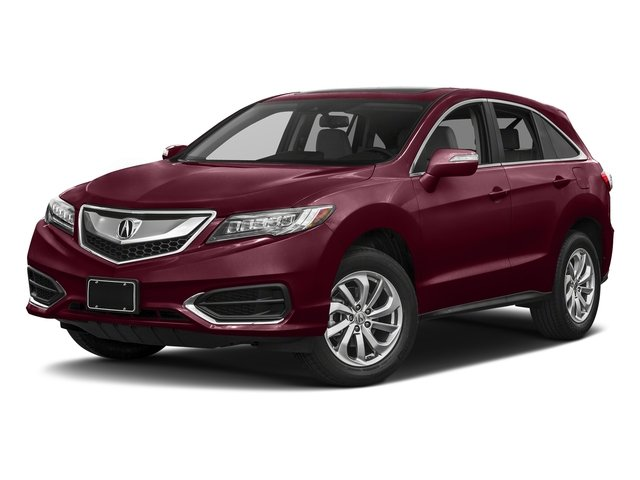 Basque Red Pearl II 2017 Acura RDX Pictures RDX FWD w/Technology/AcuraWatch Plus Pkg photos front view
