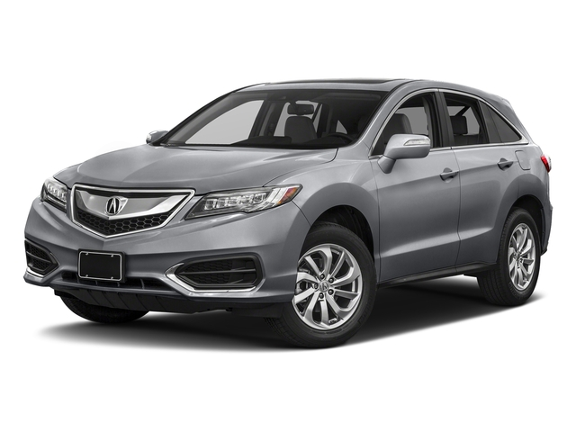 Lunar Silver Metallic 2017 Acura RDX Pictures RDX FWD w/Technology/AcuraWatch Plus Pkg photos front view