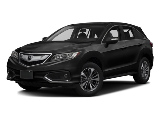 Crystal Black Pearl 2017 Acura RDX Pictures RDX Utility 4D Advance 2WD V6 photos front view