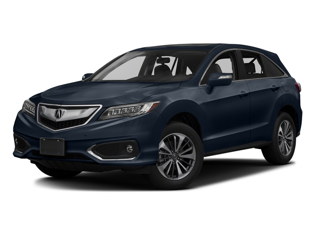 Fathom Blue Pearl 2017 Acura RDX Pictures RDX Utility 4D Advance 2WD V6 photos front view