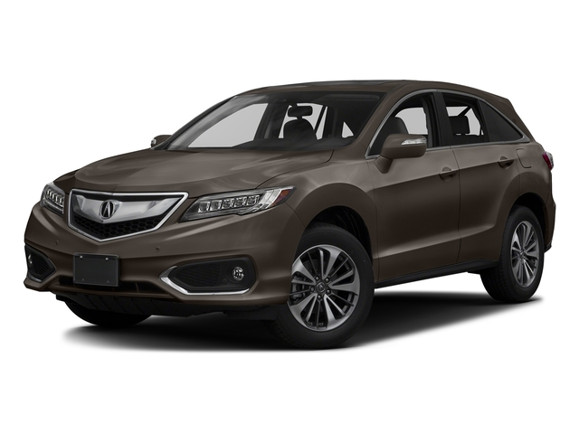 Kona Coffee Metallic 2017 Acura RDX Pictures RDX Utility 4D Advance 2WD V6 photos front view