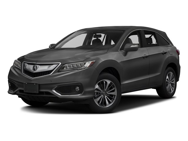 Modern Steel Metallic 2017 Acura RDX Pictures RDX FWD w/Advance Pkg photos front view