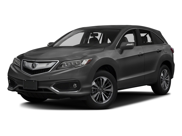 Modern Steel Metallic 2017 Acura RDX Pictures RDX Utility 4D Advance 2WD V6 photos front view