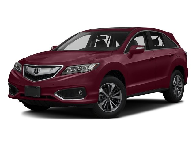 Basque Red Pearl II 2017 Acura RDX Pictures RDX Utility 4D Advance 2WD V6 photos front view
