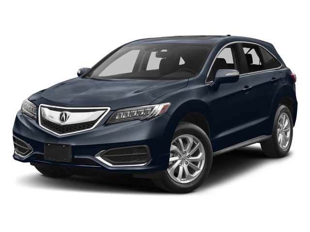 Fathom Blue Pearl 2017 Acura RDX Pictures RDX AWD w/Technology/AcuraWatch Plus Pkg photos front view
