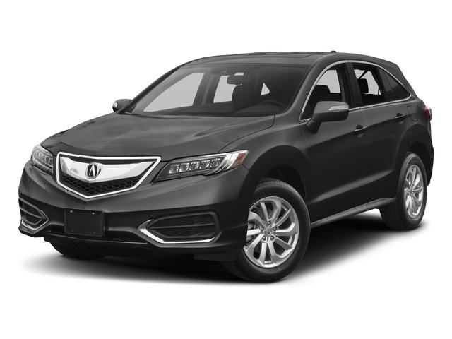 Modern Steel Metallic 2017 Acura RDX Pictures RDX AWD w/Technology/AcuraWatch Plus Pkg photos front view