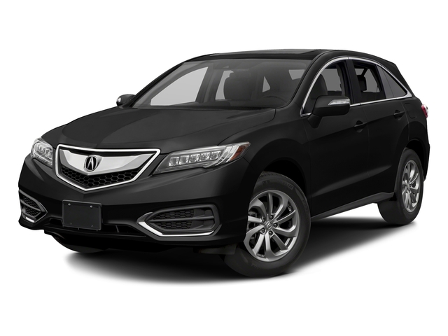 Crystal Black Pearl 2017 Acura RDX Pictures RDX FWD w/AcuraWatch Plus photos front view