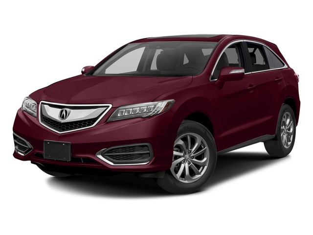 Basque Red Pearl II 2017 Acura RDX Pictures RDX FWD w/AcuraWatch Plus photos front view