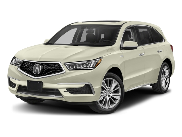 White Diamond Pearl 2017 Acura MDX Pictures MDX SH-AWD Sport Hybrid w/Technology Pkg photos front view