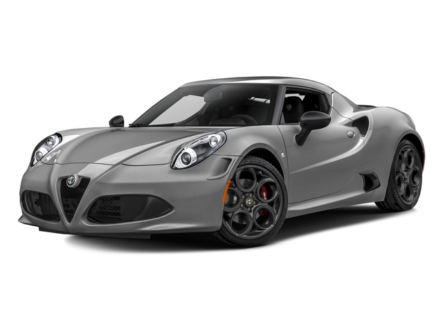 Basalt Gray Metallic 2017 Alfa Romeo 4C Coupe Pictures 4C Coupe photos front view