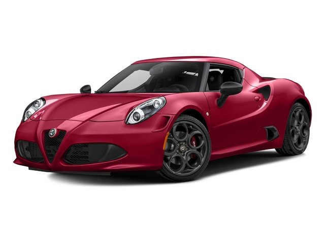 Rosso Alfa 2017 Alfa Romeo 4C Coupe Pictures 4C Coupe photos front view