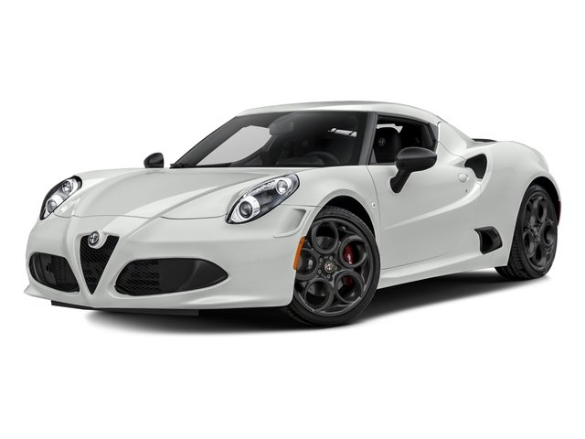White 2017 Alfa Romeo 4C Coupe Pictures 4C Coupe photos front view
