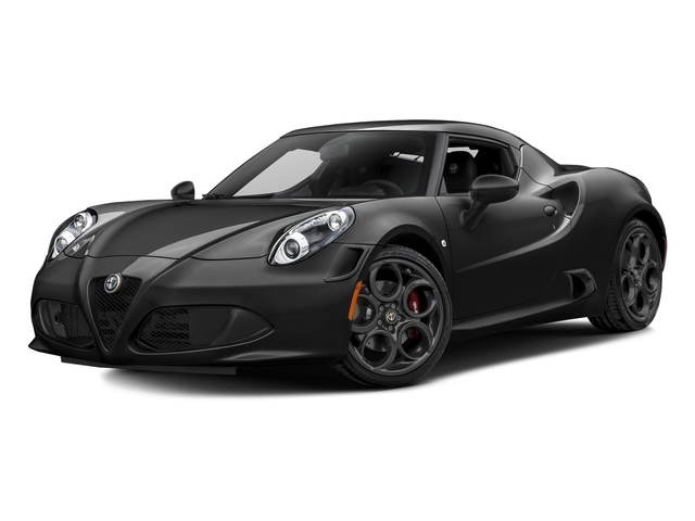 Black 2017 Alfa Romeo 4C Coupe Pictures 4C Coupe photos front view
