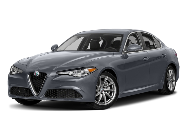 Stromboli Gray Metallic 2017 Alfa Romeo Giulia Pictures Giulia AWD photos front view