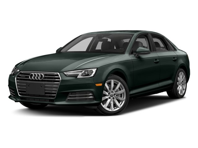 Gotland Green Metallic 2017 Audi A4 Pictures A4 Sedan 4D 2.0T Premium AWD photos front view