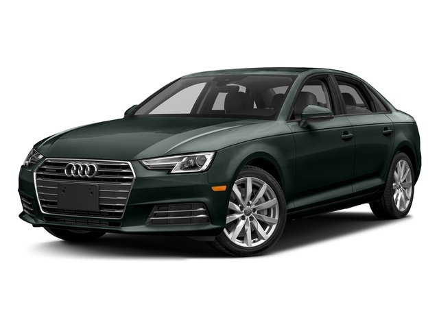 Gotland Green Metallic 2017 Audi A4 Pictures A4 2.0 TFSI Auto Season of Audi ultra Premium FWD photos front view