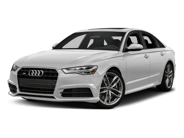 Glacier White Metallic 2017 Audi S6 Pictures S6 4.0 TFSI Prestige photos front view