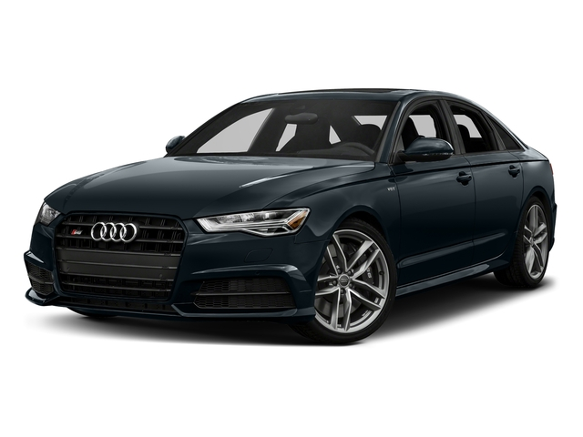 Moonlight Blue Metallic 2017 Audi S6 Pictures S6 4.0 TFSI Prestige photos front view